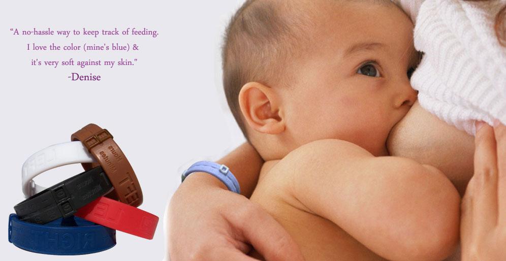 milkbands nursing bracelet